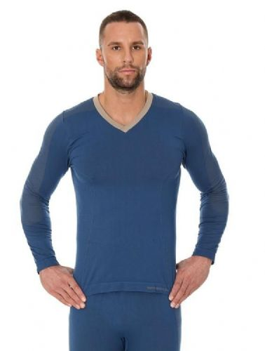 Brubeck Comfort Night Men's Pyjama/Leisure Long Sleeve Top. Blue. RRP £41, our price...